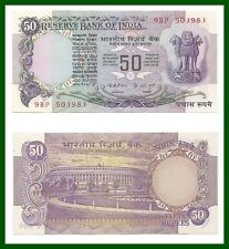 F2 50 Rupee UNC Note Sig K.R.Puri - FOUND RARE - Best Buy -Get a Similar Note