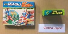 Super Soccer Super Cassette Vision Epoch TV Video game Japan