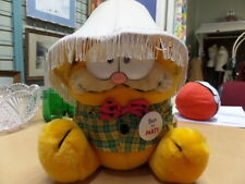 "Vintage DAKIN GARFIELD #03-7490 BORN TO PARTY Plush Doll 10"" ORIGINAL TAGS GUC"