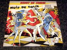 """DEBUT DE SOIREE - NUIT DE FOLIE  7"""" VINYL PS"""