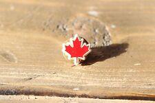 Vintage Plastic Canadian Flag Lapel Pin