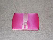 Estee Lauder Pink Purse Costmetic Travel Mirror Material Exterior Read Details
