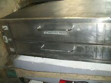 PIZZA OVEN, BAKERS PRIDE, STONES OVEN, GAS,1 DECK ,LEGS, 900 ITEMS ON E BAY