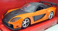 Jada 1/32 Scale Model Car 30736 - Mazda RX 7 Han's Fast & Furious - Orange