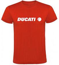 Camiseta Ducati circulo motocicletas Hombre varias tallas y colores a020