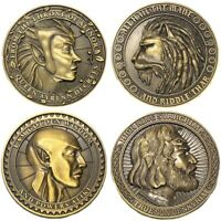 Elder Scrolls Online Greymoor 4 Collectible Coins ONLY from Collector's Edition