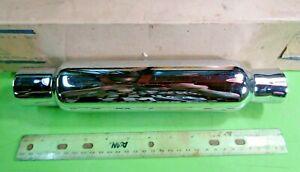 Rickman Triumph BSA Wassell Chrome Exhaust Pipe Muffler p/n Wassell # 2 NOS OEM