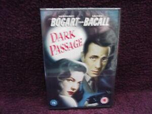 Dark Passage DVD (1947) Humphrey Bogart, Lauren Bacall, Brand New & Sealed
