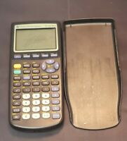 Texas Instruments TI-83 Plus Graphing Calculator With Cover Tested & Works