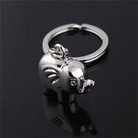 Vintage éléphant porte clé porte-clés porte clefs télécommande cadeau souvenir~h