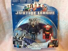 RARE 2003 MATTEL DC Justice League Night Flight Batman & Superman Action Figures