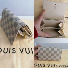 Louis Vuitton Portefeuille Tresor Wallet Purse LV Damier Azur Bifold Wallet