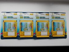 football stickers panini world cup 2014 x 4 blister packs