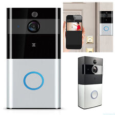 HD Video Battery Doorbell Camera Wireless WiFi Ring IR-CUT Home Office Security