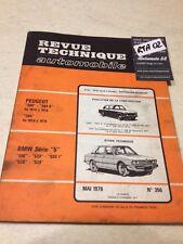 Revue Technique Automobile 356 BMW série 5 518 520 525 528  éd. 76
