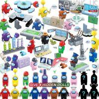 Among US 6-20 Pcs Game Model Building Blocks Mini Dolls Figures Bricks Kids Toys