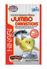 HIKARI JUMBO FLOATING MONSTER CARNIVORE STICKS 6.37 OZ. FREE SHIPPING TO THE USA