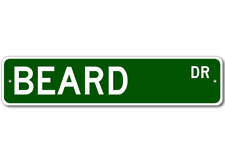 BEARD Street Sign - Personalized Last Name Sign