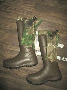 LaCrosse Camo Rubber Boots 10 Armor Shield 3.5mm