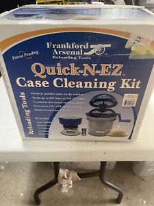 Frankford Arsenal Quick-N-EZ Case Tumbler & Volt Separator And Media New In Box