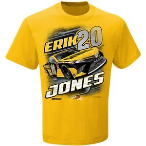 Erik Jones Racing Team Collection T-Shirt - Yellow
