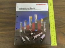 Hamamatsu Image Pickup Tubes Catalog 31pp 1991