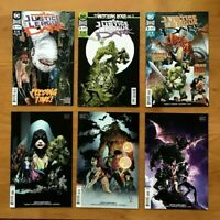 Justice League Dark 3,4,5 2018 Main Covers + Variant Covers 1st Prints DC NM