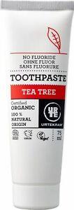 KS (7,20/100ml) 2x Urtekram Zahnpasta Zahncreme Teebaum Tea Tree vegan 75 ml
