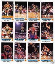Panini Karl Malone Utah Jazz Original Basketball Cards