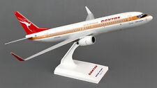 Qantas - Retro Boeing 737-800 1:130 SkyMarks Flugzeug Modell SKR819 B737 NEU QF