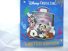 Disney's Cruise Line Happy New Year 2016 Captain Mickey,Goofy and Donald Le Pin