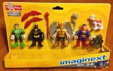 Fisher-price Imaginext DC Super Friends Heroes Set Superman Batman Green Lantern
