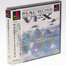 MACROSS DIGITAL MISSON VF-X Mission PS1 Sony Japan Import PlayStation PSX NTSC-J