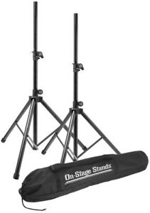 On-Stage SSP7900 Aluminum Speaker Stand Pack