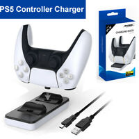 Charging Dock Station Game USB Cable for Play Station 5 PS5 Gamepad Joystick