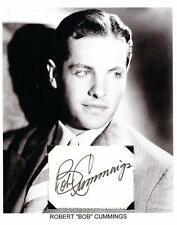 Robert Cummings Autograph Dial M for Murder The Devil and Miss Jones Saboteur #3