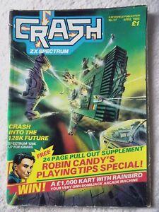 60343 Issue 27 Crash Magazine 1986