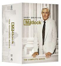 Matlock Complete Series Season 1, 2, 3, 4, 5, 6, 7, 8 & 9 DVD Box Set 1 - 9 New