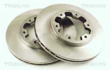 2x Bremsscheibe TRISCAN 812014124 vorne für NISSAN