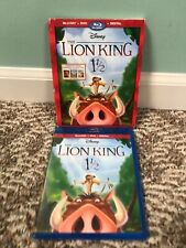 The Lion King 1 1/2 (Blu-ray Disc, 2017) w/ Slipcover