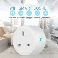 Smart Plug Outlet Switch WiFi Socket Remote Voice Control Amazon Alexa Google UK