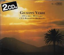 Giuseppe Verdi - Highlights from Aida and Rigoletto - 2 CDs