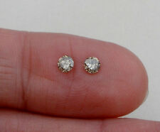 Champagne Natural Diamond Round Loose Faceted Pair 3.5mm each