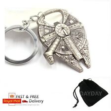 Star Wars Millennium Falcon Metal Keychain Keyring Key Collection gift for him