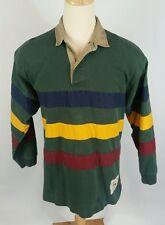 1993 Vtg 90s Tommy Hilfiger Outdoorsman Color Block Fishing Polo Shirt L