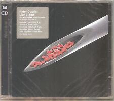 """PETER GABRIEL """"Live Blood"""" 2CD sealed"""