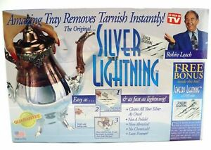 Silver Lightning Jewelry Cleaner Tarnish Remover As Seen on TV Gold Copper Steel