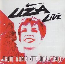 LIZA MINNELLI - LIZA LIVE FROM RADIO CITY MUSIC HALL - CD