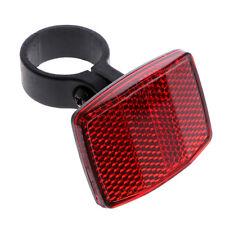 Bicycle Handlebar Reflector Bike Reflective Front Rear Warning Light Safety Lens