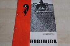 144124) Rabewerk Spatenkrümler Spatenrollegge Prospekt 03/1970